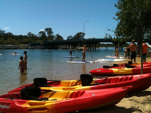 Currumbin Creek, Gold Coast: Enjoy a day on the water SUP boarding and kayaking