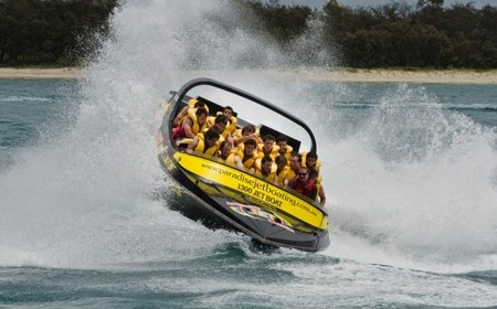Paradise Jet Boating at Surfers Paradise; What a ride!