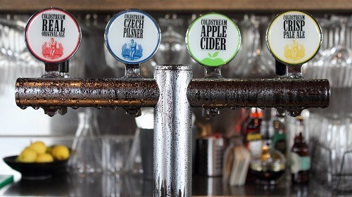 Coldstream Brewery Beers on Tap