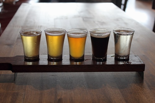 Coldstream Brewery Tasting Paddle